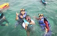 Snorkling di Gili Labak