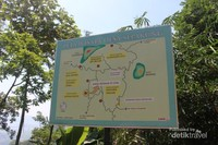 Denah lokasi wisata Bukit Sepakung.