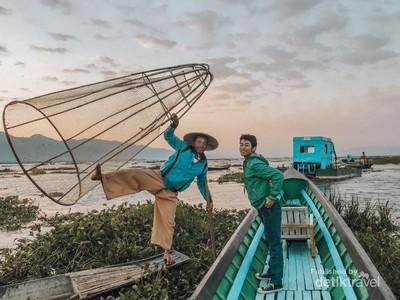 Cerita Danau Inle Myanmar yang Mendunia