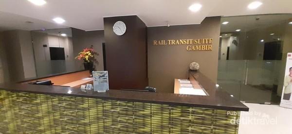 Pod room merupakan bagian dari Rail Transit Suite stasiun Gambir