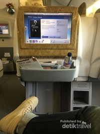 Kursi Extraordinary - Upgraded ke Business Class. GRATIS!