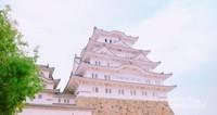 Salah satu menara Himeji Castle.