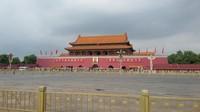 Tiananmen Square, lapangan bersejarah di ibukota Cina, Beijing
