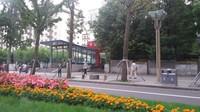 Salah satu sudut kota Chengdu yang bersih dan rapi