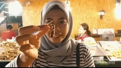 Jalan-jalan ke Thailand, Jangan Lupa Ngemil Serangga