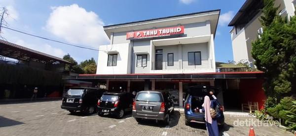 Usaha tahu Toko Tauhid sudah sejak tahun 1985