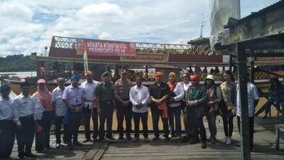 Danau Terbesar Kedua di Kalimantan Jadi Rumah Pesut Mahakam