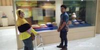 Bersama Guide di Museum Taman Purbakala Kerajaan Sriwijaya