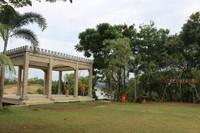 Lokasi lapangan terbuka di bagian atas.