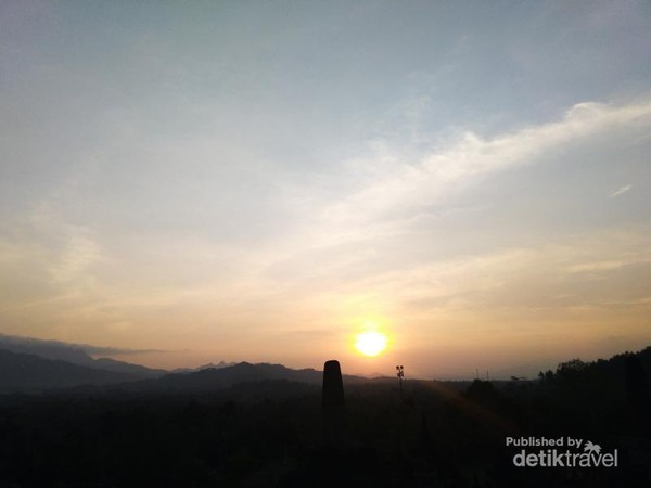 Sunset yang indah