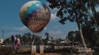 Balon udara yang jadi spot paling diminati oleh para wisatawan