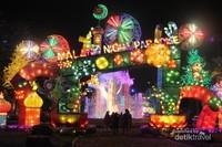 Wisata malam di Malang Night Paradise