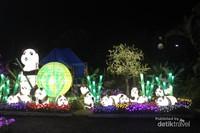 Salah satu spot di Malang Night Paradise