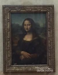 Lukisan Monalisa yang fenomenal , Louvre