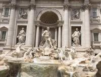 Travi Fountain, Roma, Italy