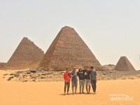 Pyramids of Meroe, Sudan.