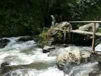Melewati jembatan bambu yang horor