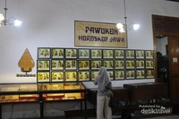 Di bagian belakang museum terdapat pawukon horoskop jawa.