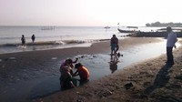Ombak pantainya aman untuk anak anak bermain, karna sudah ada pemecah gelombang setiap radius beberapa ratus meter. Ada fasilitas penyewaan pelampung.  Pengunjung juga bisa naik wahana perahu nelayan ke tengah laut.