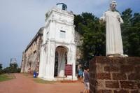 St Paul Church, gereja tertua di Asia Tenggara yang terletak di atas bukit St Paul