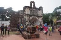 A Famosa, benteng peninggalan Portugis di Melaka
