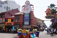 Jonker Street, jalan utama Chinatown di Melaka