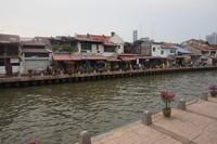 Inilah Sungai Melaka, sungai yang bersejarah di Kota Melaka.
