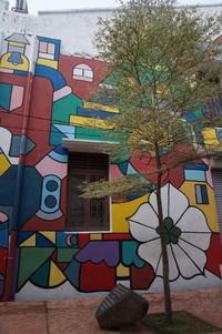 Street Art menarik yang terdapat di sisi Sungai Melaka, di belakang Hard Rock Cafe