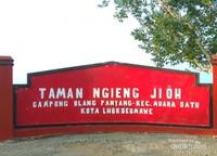Taman Ngieng Jioh di sekitaran Goa