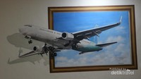 Terdapat spot foto 3 dimensi di bandara Halim Perdanakusuma