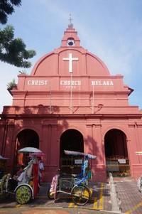 Bangunan lain di sekitar Clock Tower, Christ Church Melaka