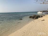 Pantai Ujung Gelam, Berpasir Putih
