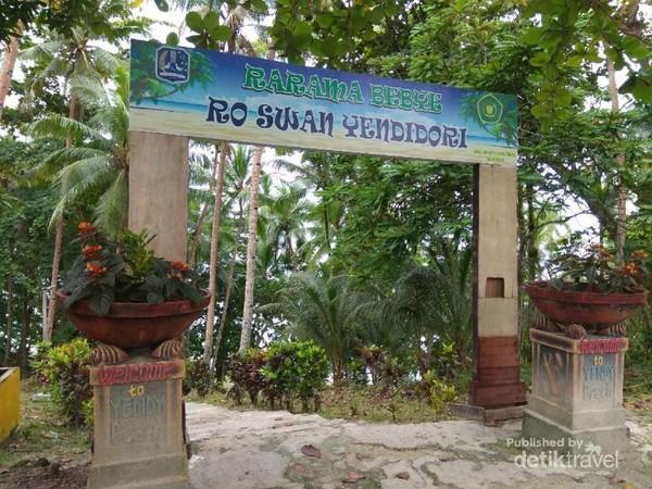 Selamat datang di pantai Yendidori