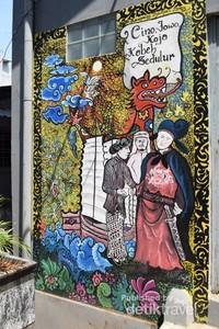 Kisah Cheng Ho Pada Sebingkai Mural