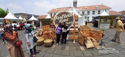 Intip Lagi Festival Kopi Nusantara di Kota Tua