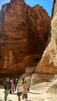 Turis di Petra