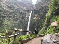 Penampakan spot terdekat air terjun