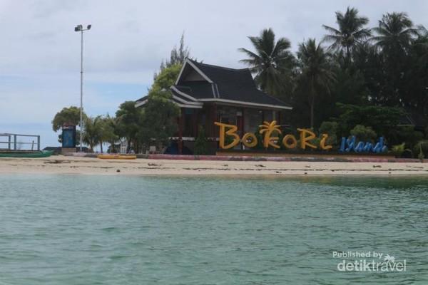 Sekitar Entrance Pulau Bokori
