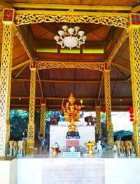 Pendopo gajah, altar tertinggi