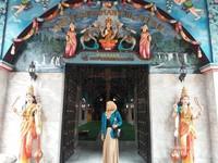 Pintu Masuk Kuil Shri Mariamman