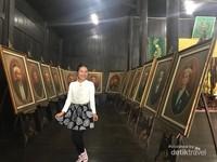 Coba tebak, di antara lukisan ini mana yang bisa melihat ke segala arah.