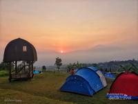 Inilah Camp Ground Lembah Salak, Curug Putri Pelangi, Cijeruk,  Bogor