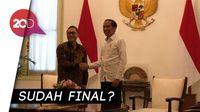 Ada Pembahasan Koalisi di Balik Pertemuan Jokowi-Zulhas