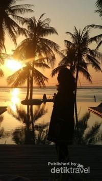 Mata tenggelam melihat pesona matahari yang seksi di ujung pulau terselatan di Indonesia