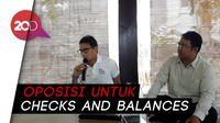 Sandi Sebut Oposisi Harus Ada: Bahaya Kalau Cuma Dikelilingi ABS