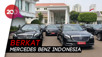 Istana Sewa Gratis 18 Mercy untuk Tamu Negara di Pelantikan Jokowi