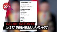 Jelang Pelantikan Presiden, Aneka Tagar Ramaikan Twitter