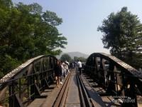 Death Railway, jalan kereta diatas sungai Kwai