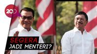 Johnny Plate-Moeldoko Temui Jokowi di Istana