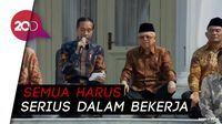 Jokowi ke Menteri Baru: Kalau Kerja Tak Serius, Saya Copot di Tengah Jalan!